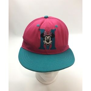 Vintage Disney Store girls Youth cap Minnie Mouse